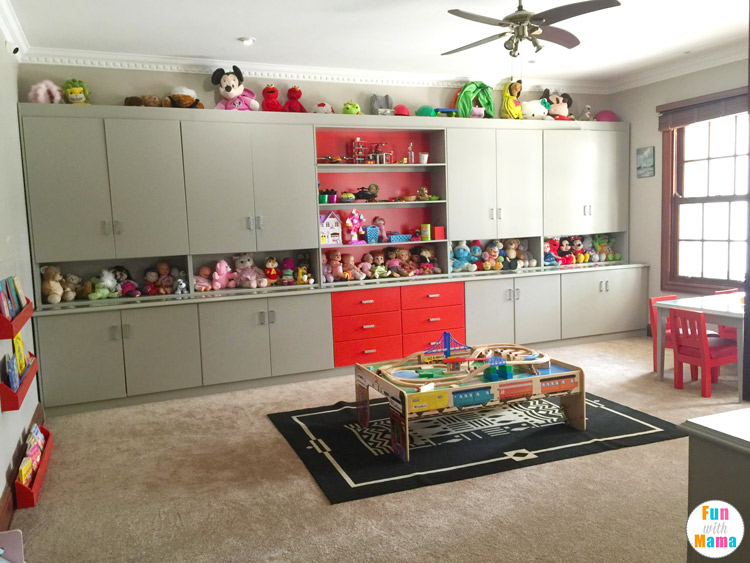 best way to organize kids toys