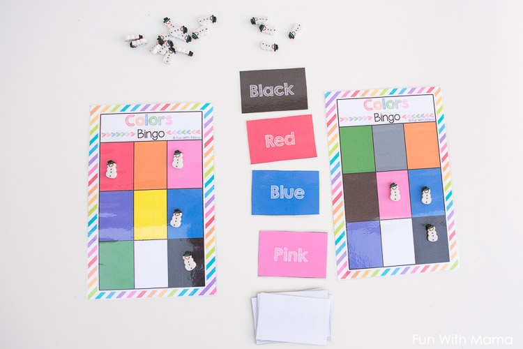 color match game printable