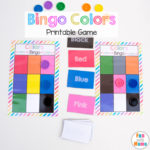 Printable Bingo Colors