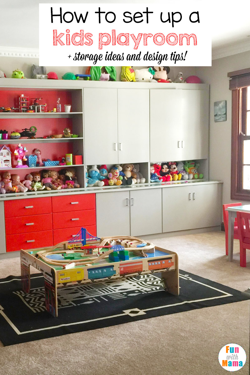 How to set up a kids playroom fun with mama for How to design a room