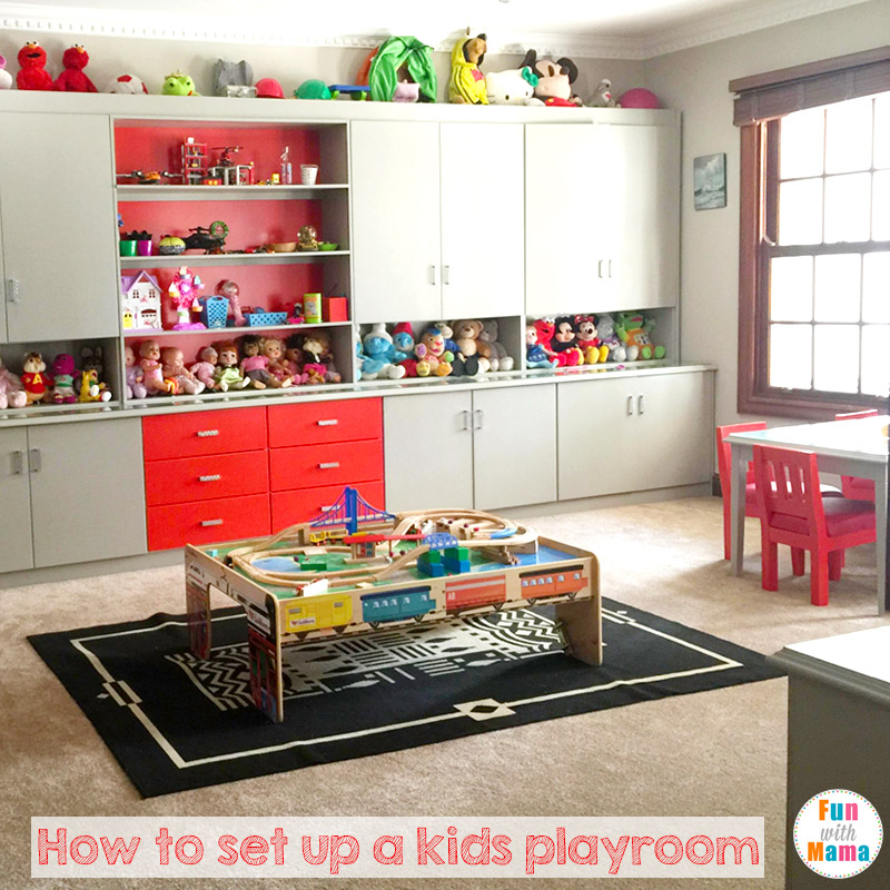 How To Set Up A Kids Playroom Fun With Mama