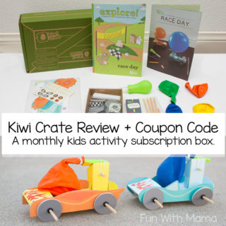 Fun Filled Kiwi Crate Review and Coupon Code