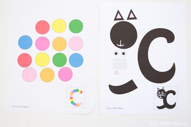letter c crafts