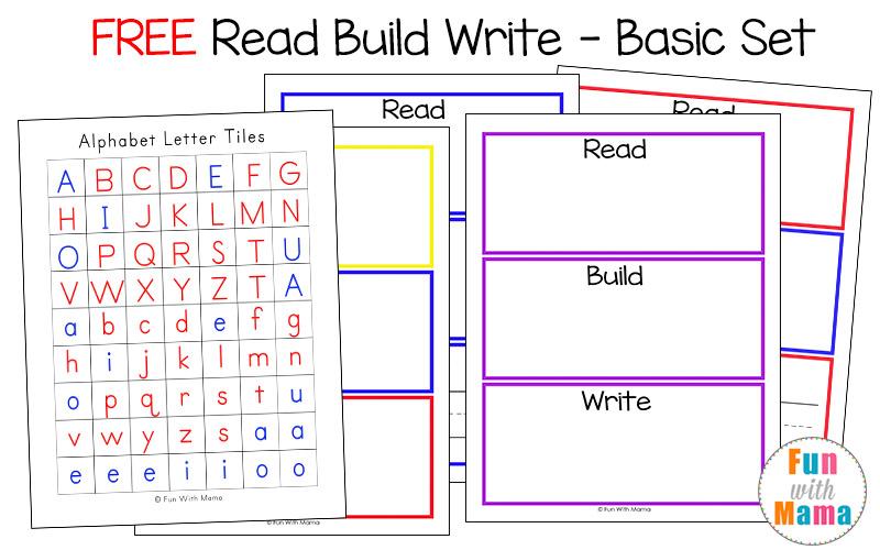 read build write mats say it build it write it