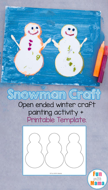 snowman-crafts-art