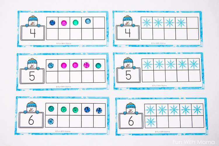 ten frame worksheet
