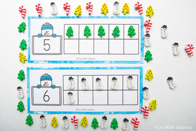 ten frame cards printable