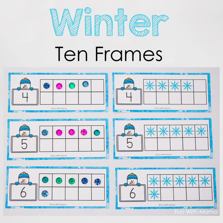 Blank Ten Frames To Print - Best Frames 2017