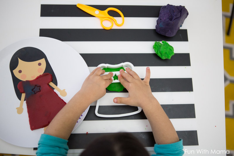 playdough activities for 2 year olds