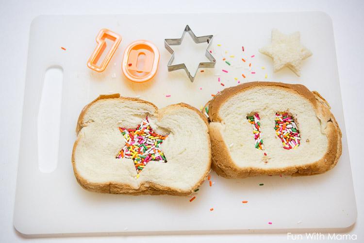 how to make a fairy sandwich