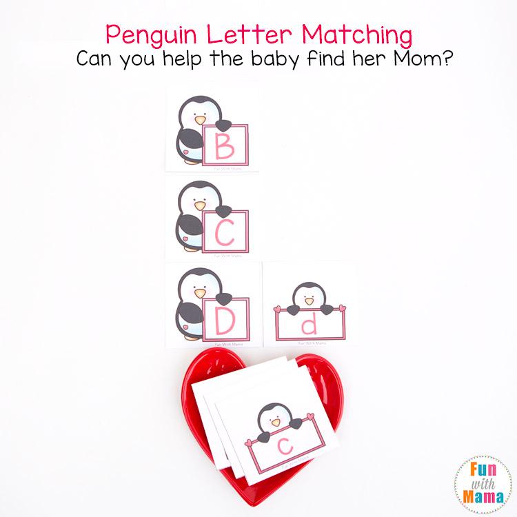 penguin letter matching