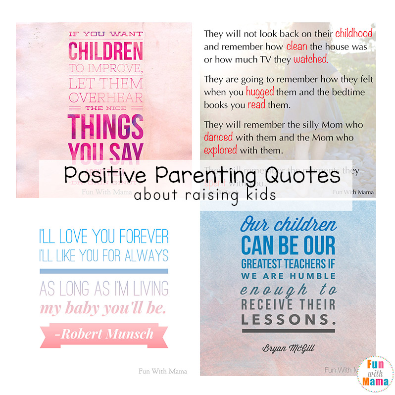 positive parenting quotes about raising kids