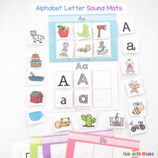 Alphabet Letter Sound Mats