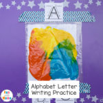 Alphabet Letter Formation Cards