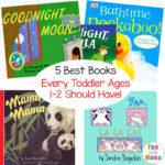 5 MUST HAVE Books For Toddlers Ages 1-2