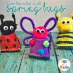 Egg Carton Crafts Spring Bugs