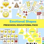 Emotions + Shapes Free Printable Preschool Pack