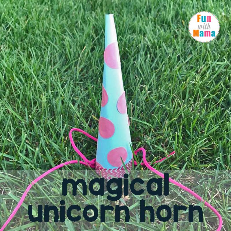 unicorn craft template