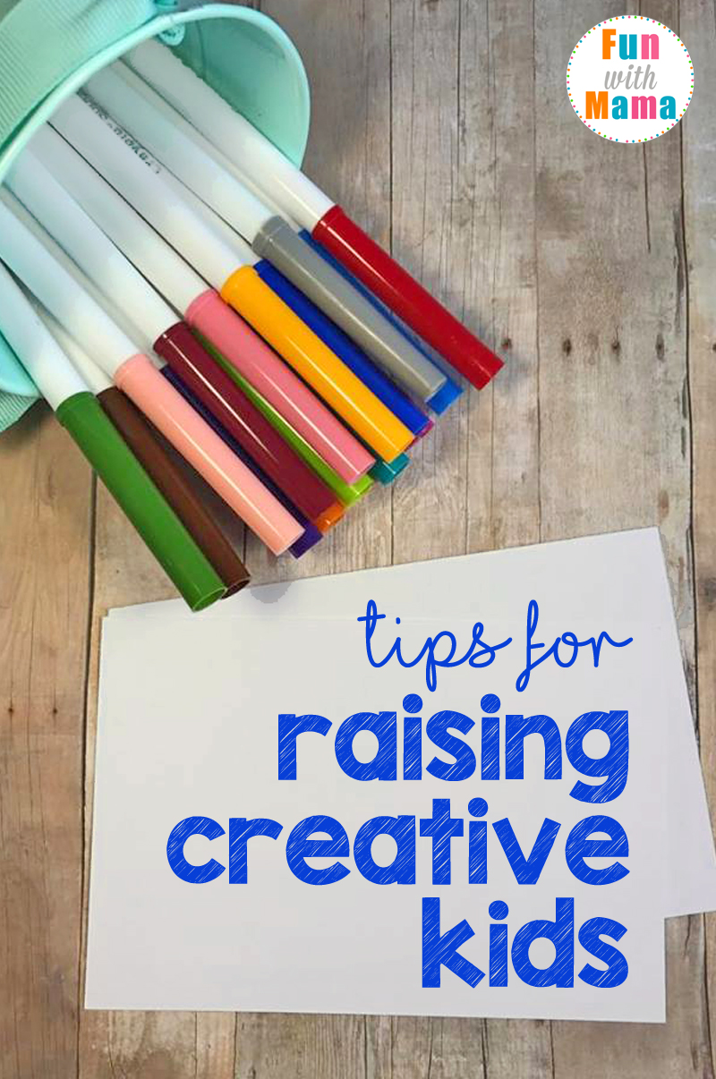 Easy Tips For Raising Creative Kids: Tips for helping mold your child to see the world in a creative way.