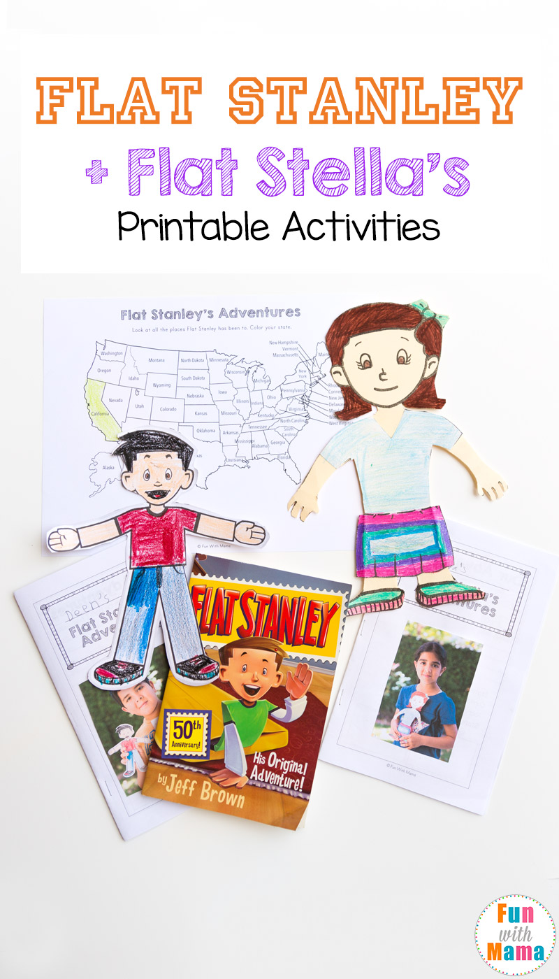 picture relating to Flat Stanley Printable Templates named Flat Stella + Flat Stanley Printable Things to do - Entertaining with Mama