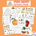 Food Groups Preschool Activity Pack