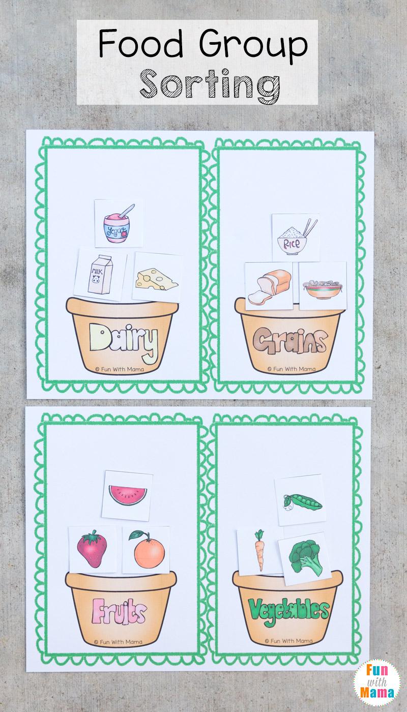 Food Groups Sorting Worksheet Related Keywords Food Groups Sorting Worksheet Long Tail