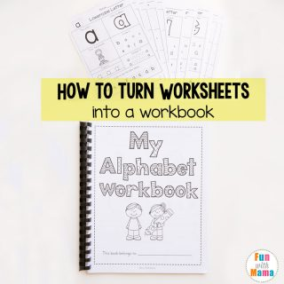 Homeschool Organization How to Bind A Book