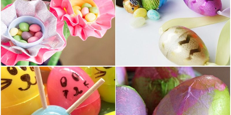 20 Fun Plastic Easter Egg Crafts