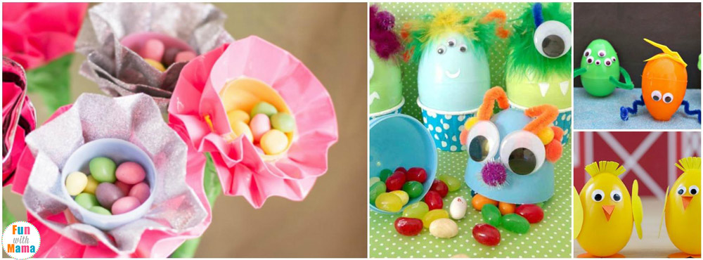20 Fun Plastic Easter Eggs Crafts With Mama