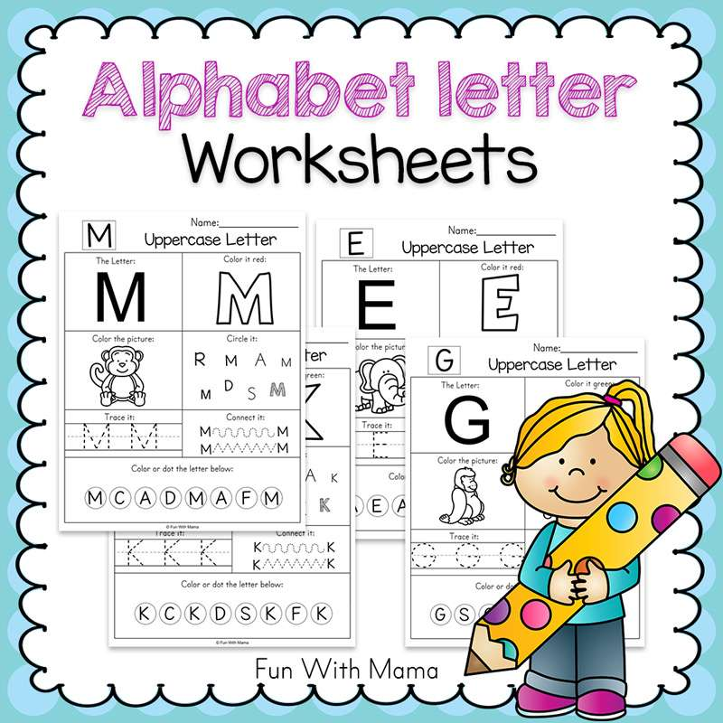 Alphabet-letter-worksheets