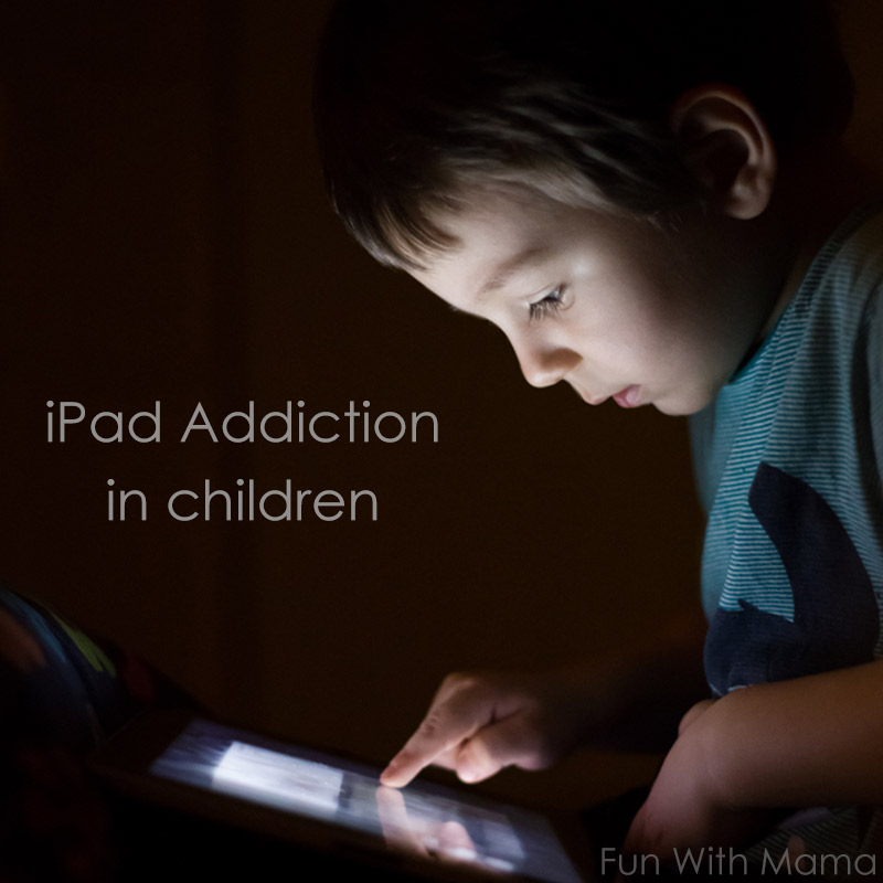 toddler addicted to iphone