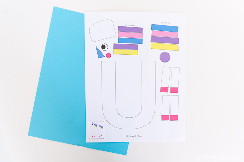 letter crafts for toddlers
