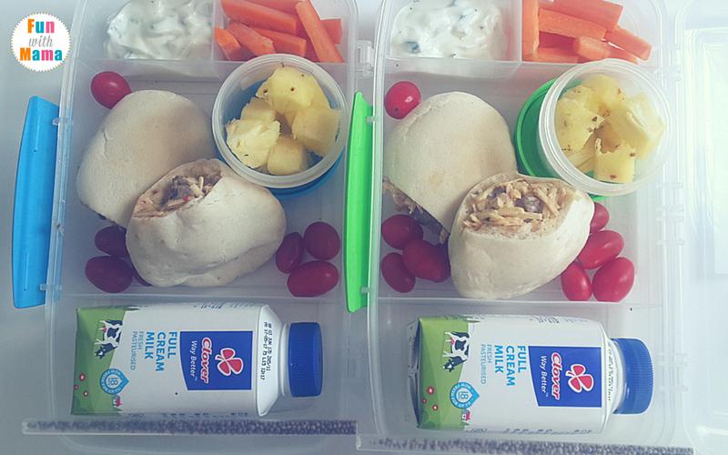 school lunch ideas for kindergarten