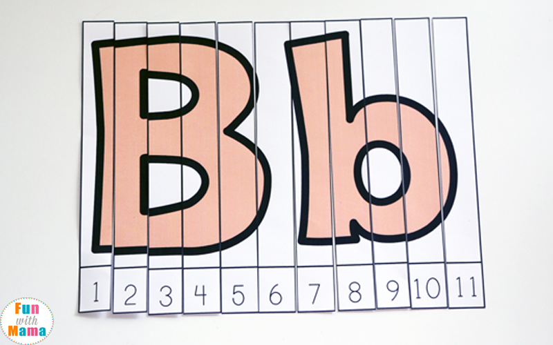letter b activities for 3 year old