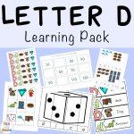 Free Letter D Printable Pack