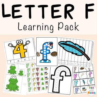 Free Letter F Printable Pack