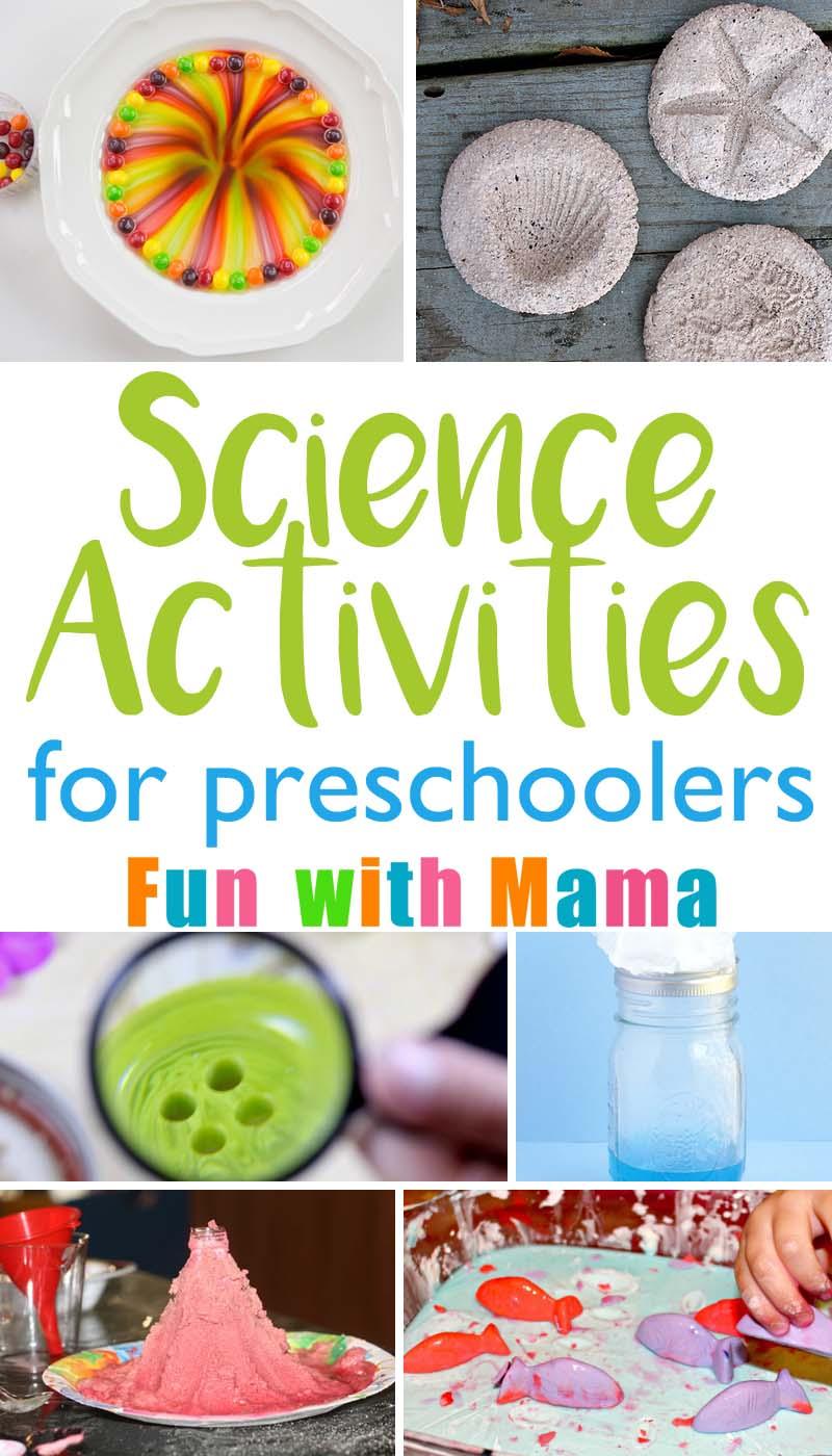 Super Fun & Easy Science Activities That Kids especially preschoolers Will Love