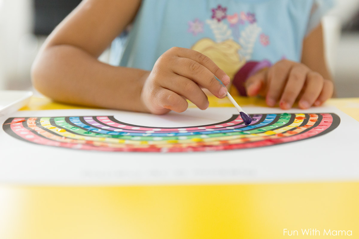 the best rainbow learning activities for preschoolers fun with mama