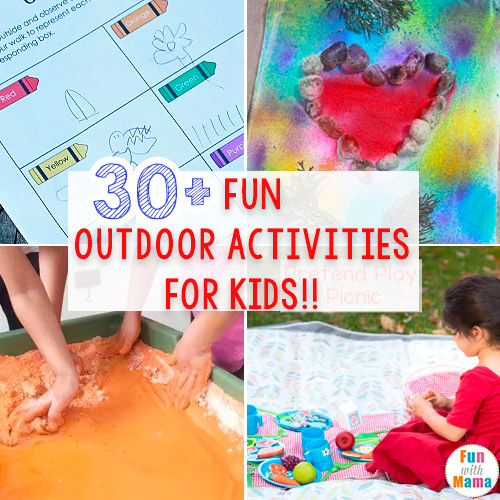 30 Fun Must Do Outdoor Activities For Kids Fun With Mama