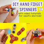 DIY Hand Fidget Spinners With Videos!