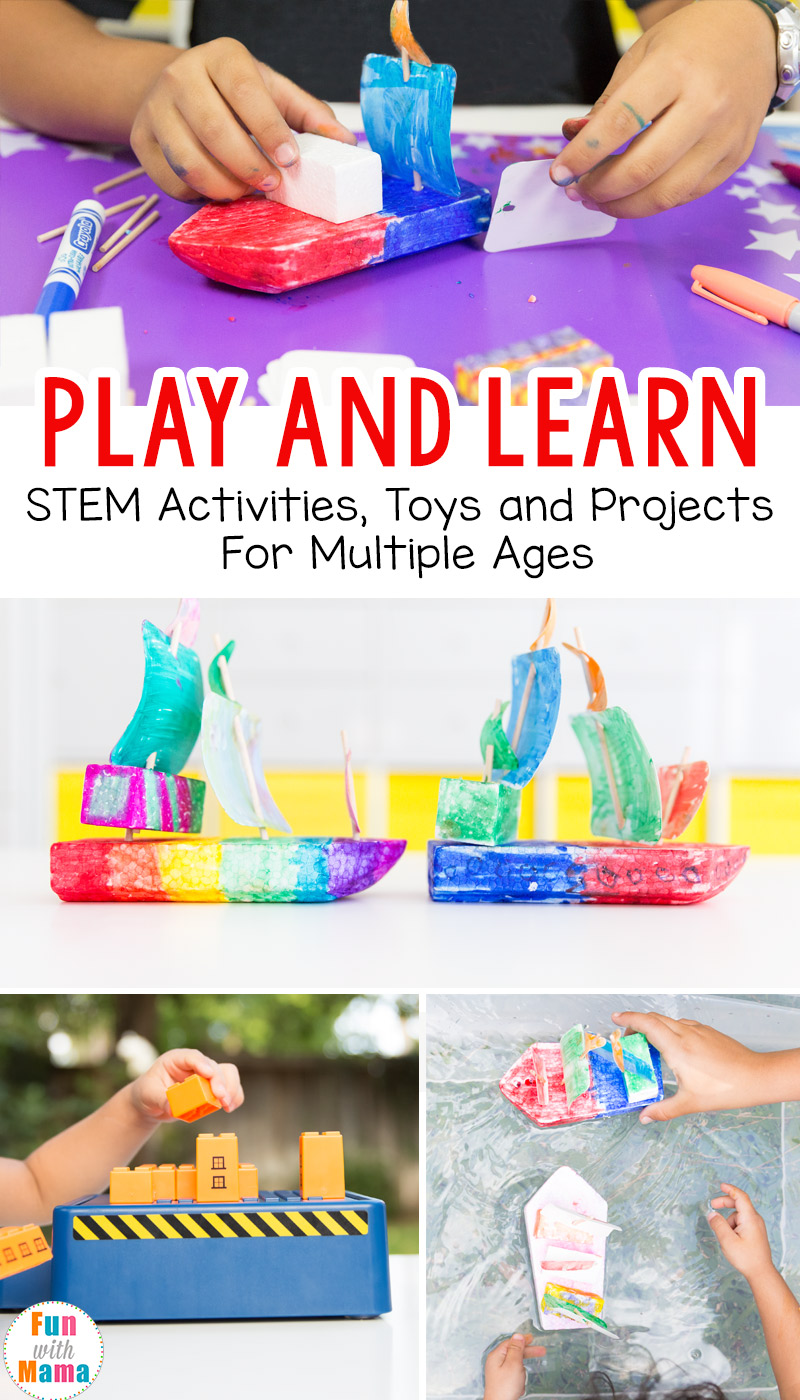 Toys For Activity : Play and learn stem activities toys for multiple ages