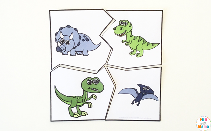dinosaur activities for the early years