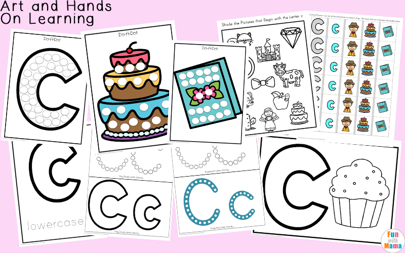 letter c crafts and art
