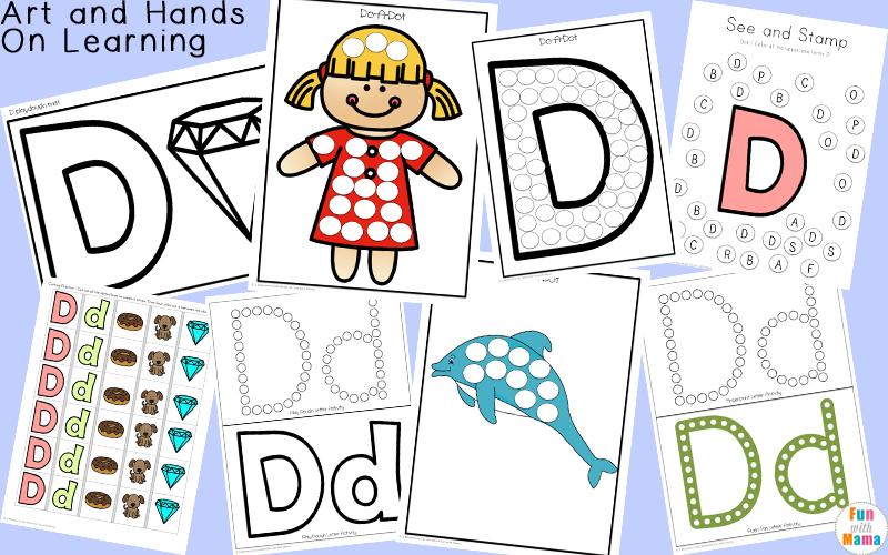 letter d crafts
