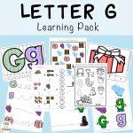 Letter G Preschool Printable Pack