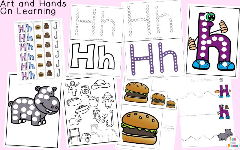 letter h crafts