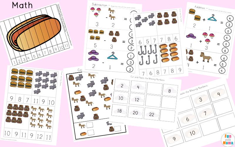 letter h activities for kindergarten