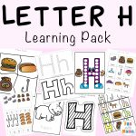 Letter H Worksheets + Activities