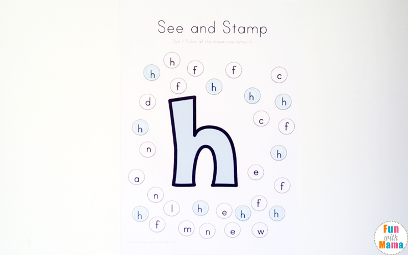 graphic relating to Letter H Printable called Letter H Worksheets + Functions - Enjoyment with Mama