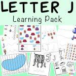 Letter J Activities for Preschool + Kindergarten Pack